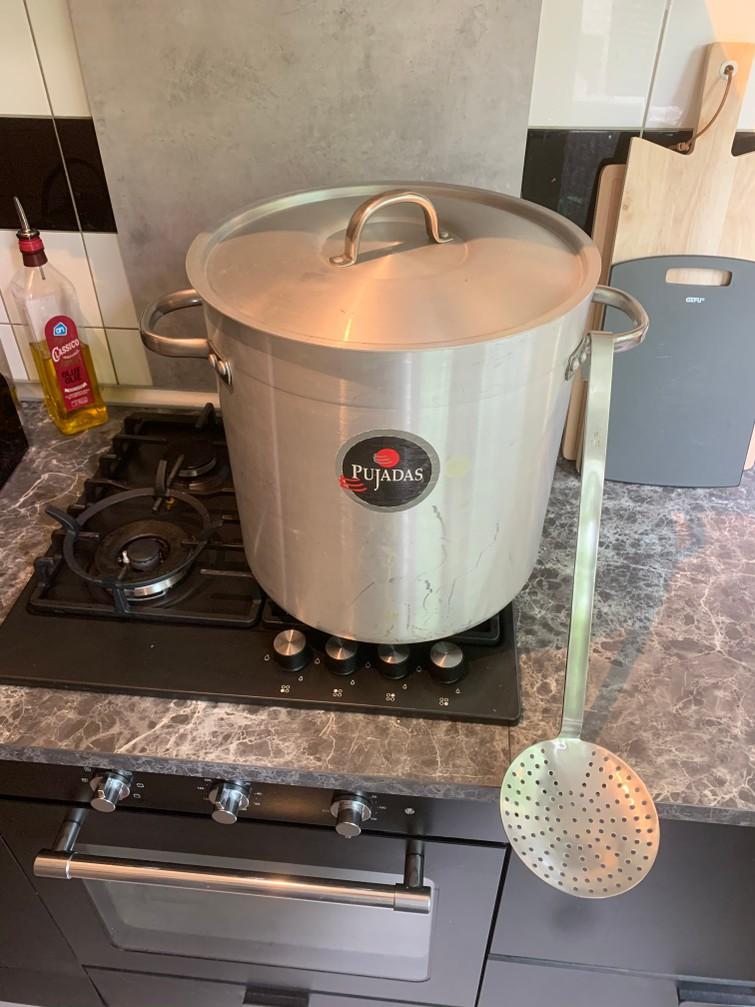 Kookpan 50 liter
