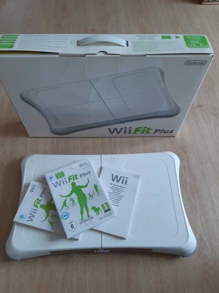 Wii Balance Board met spel