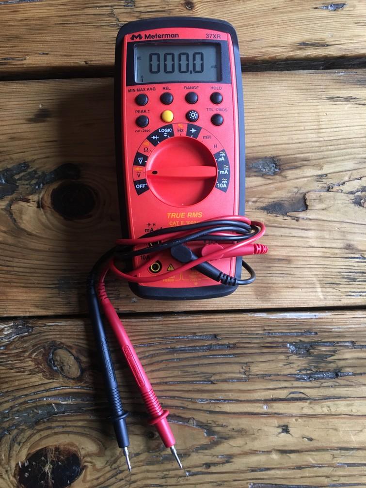 Multimeter Meterman