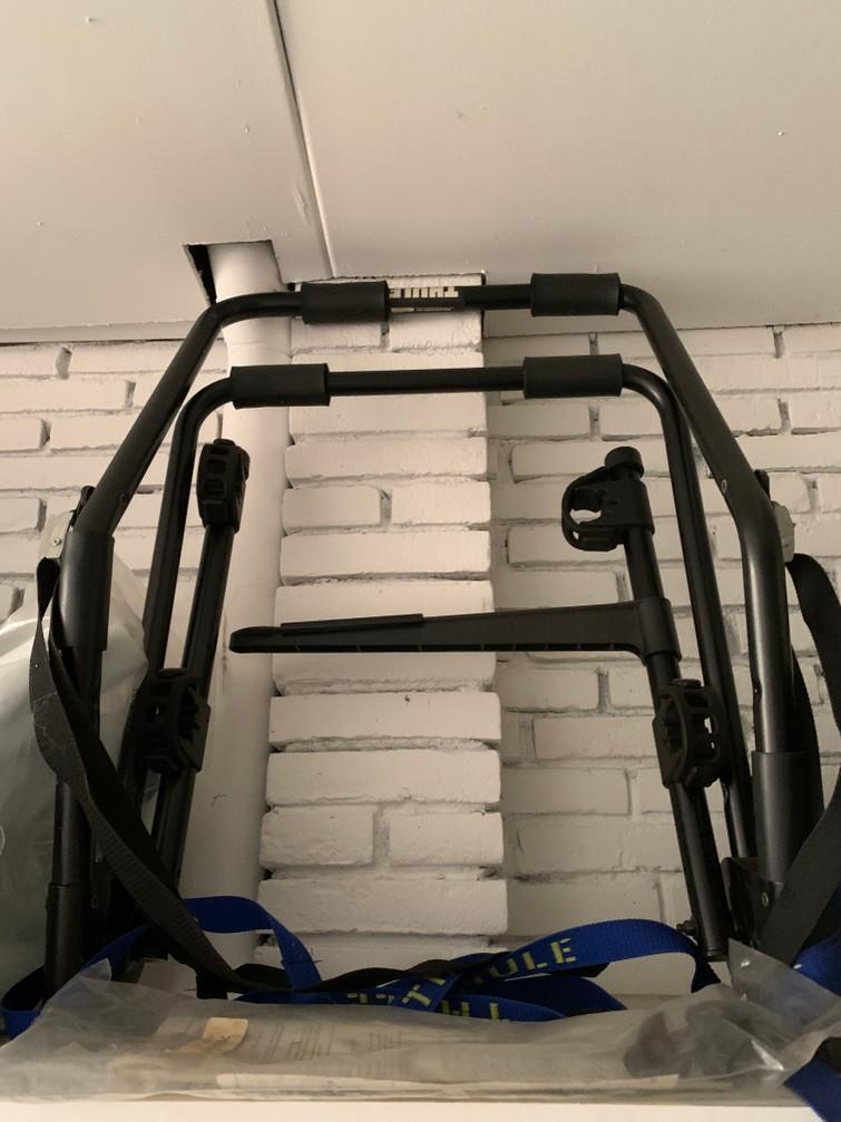 Thule fietsdrager voor auto's zonder trekhaak