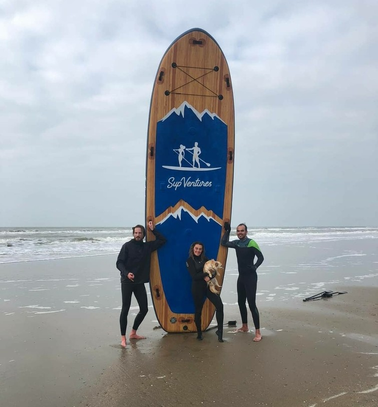 Mega Sup board (6 persoons)
