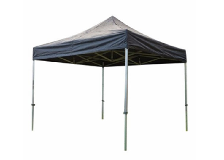 Easy up tent 3 x 3 zwart