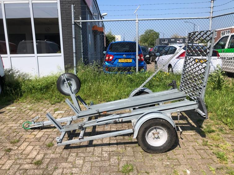 Scooter of fiets Aanhangwagen