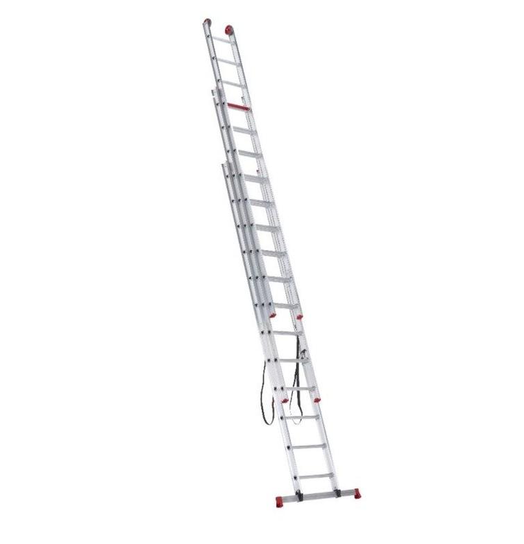 3-delige ladder (max. werkhoogte 8,5m)