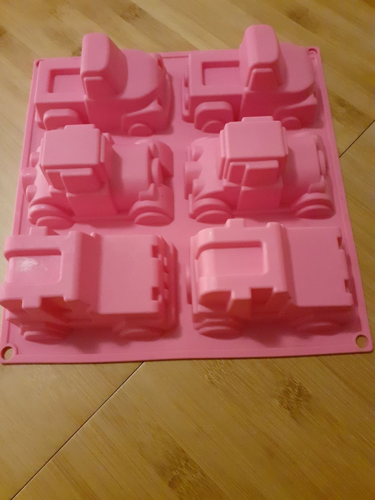 Bakvorm silicone voertuigen