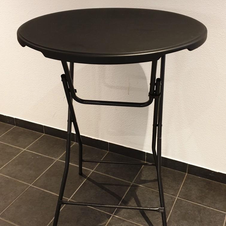 Statafels (zwart) (2x)