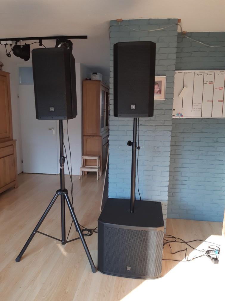 Professionele geluidsinstallatie - Electro Voice