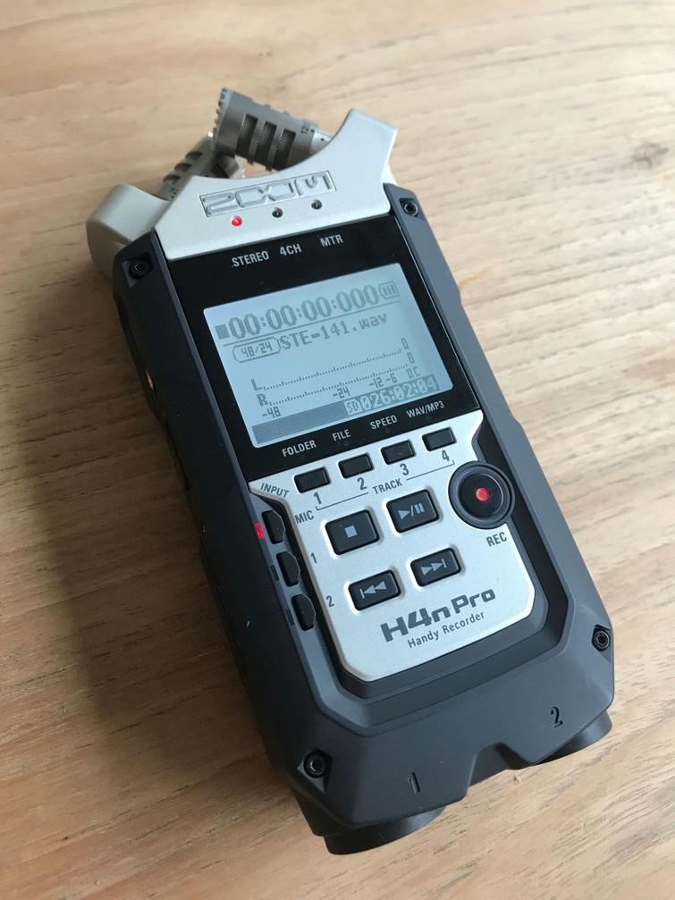 Zoom Recorder H4nPro