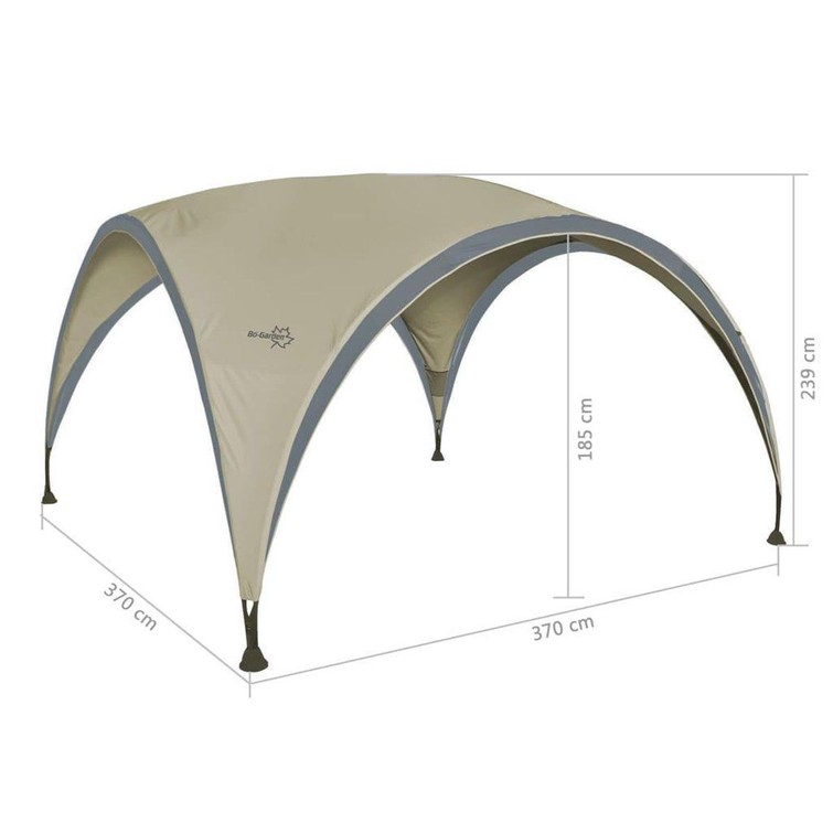 Bo-Camp Party Shelter M (370 x 370cm)