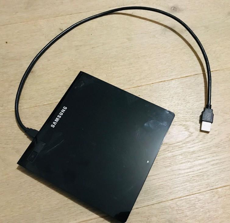 Externe USB CD/DVD brander/speler