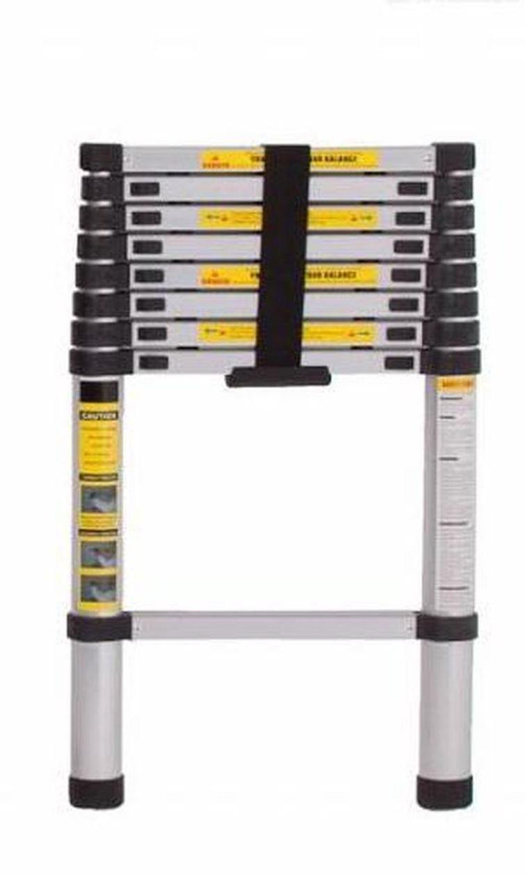 telescopische ladder 2.70 meter
