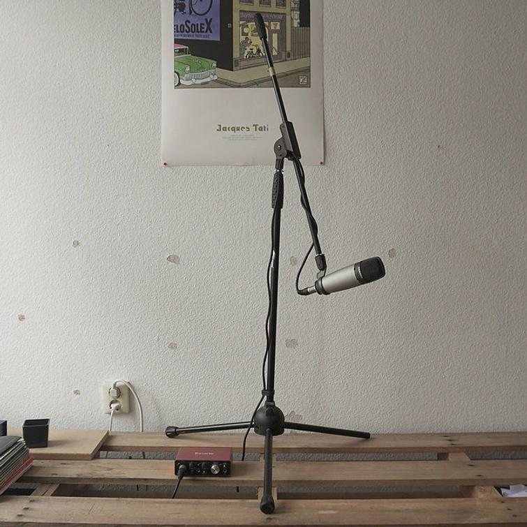 Samson Studio Mic + Focusrite Scarlett Audio Interface + Mic Stand (BUNDLE)