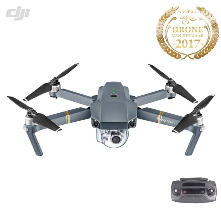 Drone DJI Mavic Pro, 2-7 dagen 50% korting, 7-20 dagen 65% korting