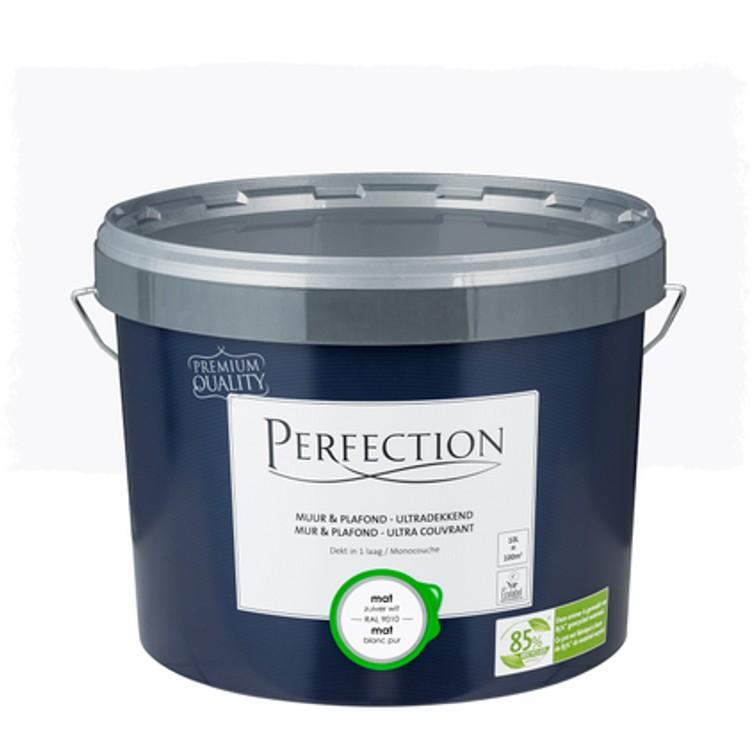 1 liter witte verf kleurcode RAL 9010