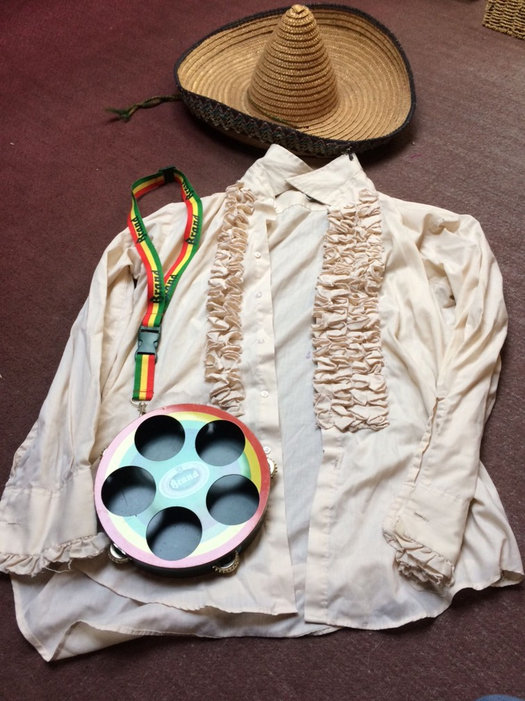 Carnavals kleding Mexico