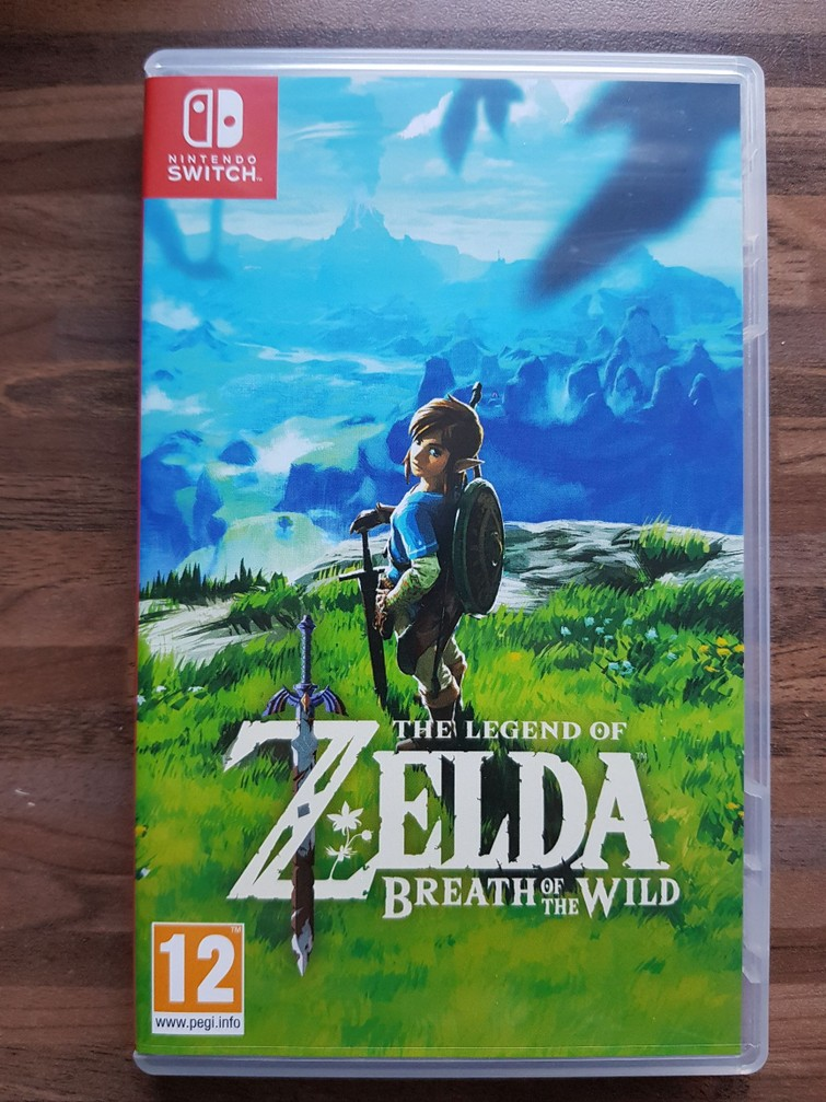 Nintendo Switch Game - Zelda