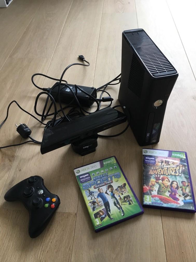 Xbox 360 & Kinect & 1x controller
