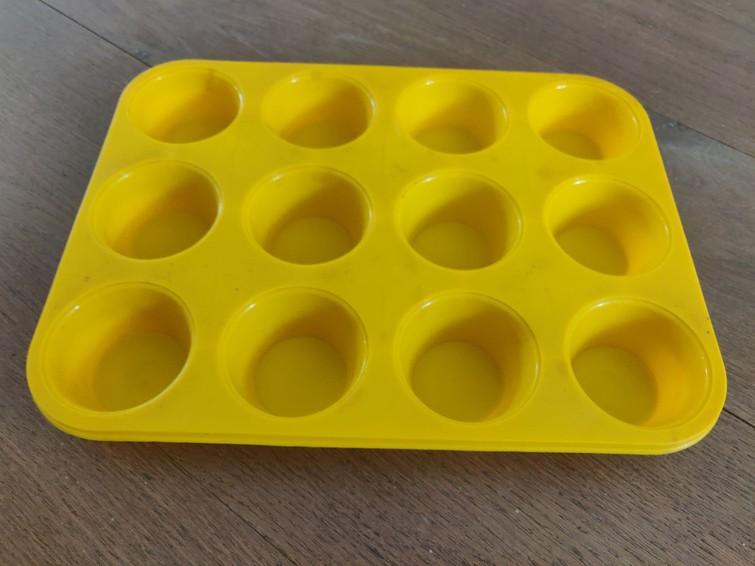 Siliconen muffinvorm
