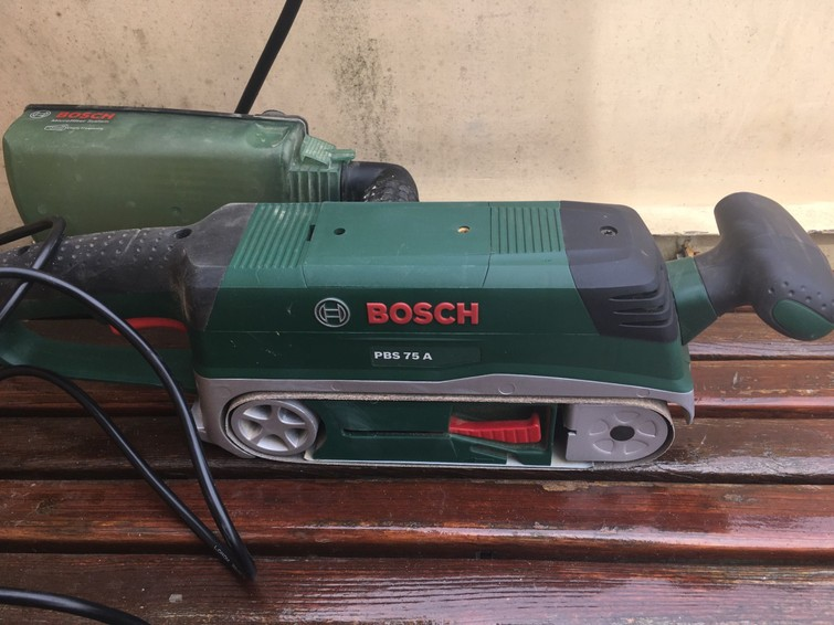 New Bosch beltsander