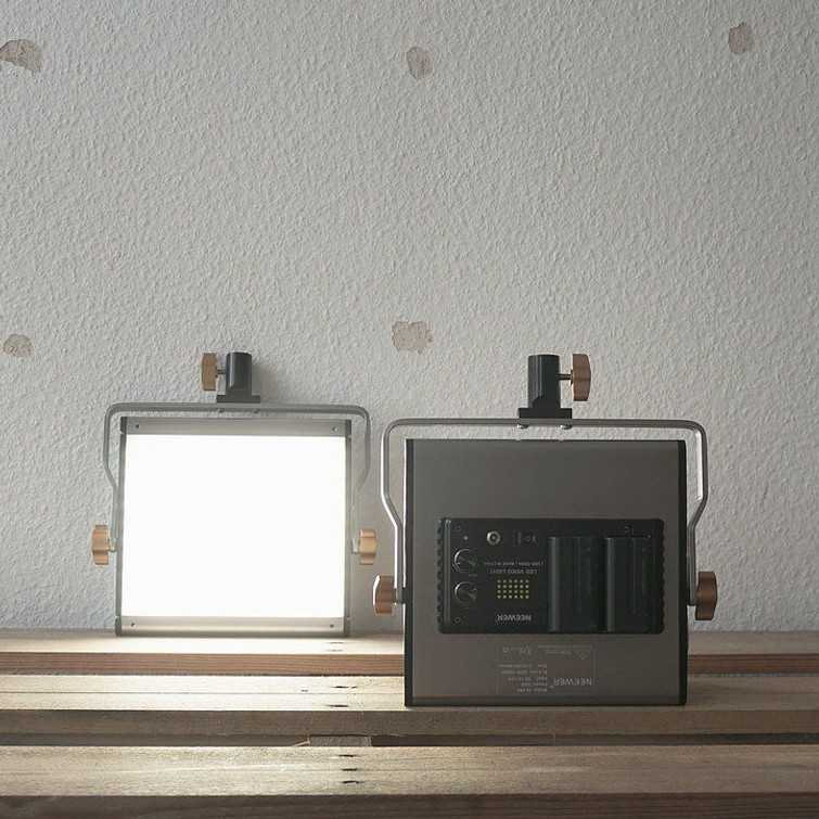 2x Neewer Film Lights w/ Stands