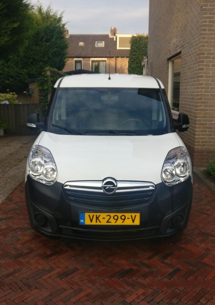 Opel Combo - bestelbus met koeling