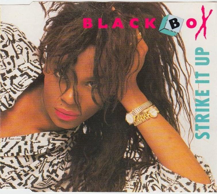 Black Box – Strike It Up (Martha Wash) (CD Single) 5 Mei 1991. - CD
