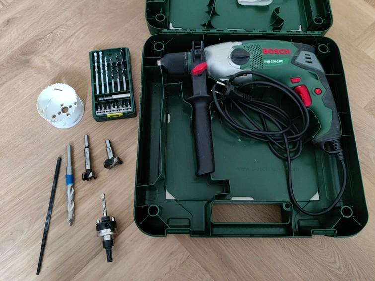 Bosch PSB 850-2 RE klopboormachine