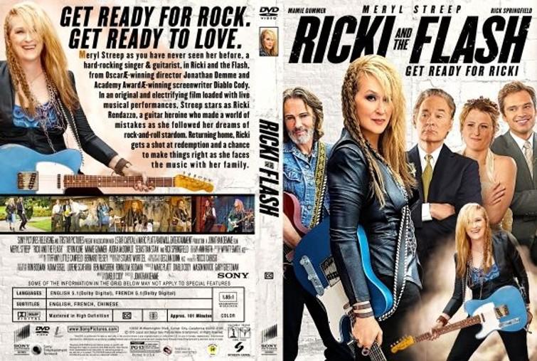 Rcki And The Flash (Meryl Streep & Ben Platt) 2015. - DVD