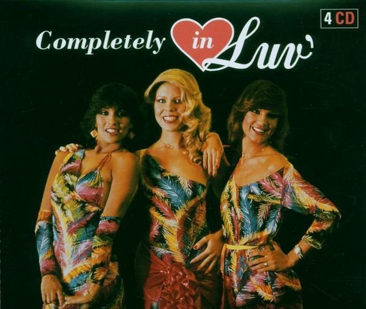Luv - Completely In Luv. (Album CD) 1 April 2006. - CD