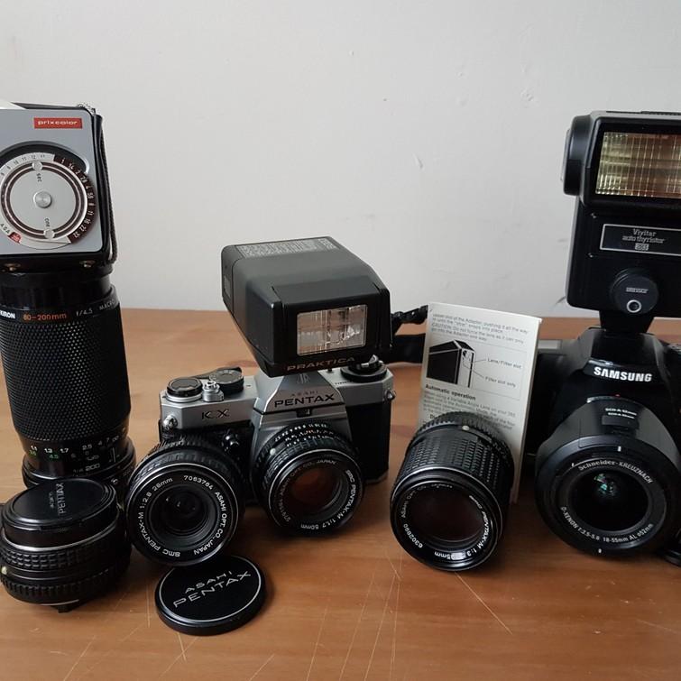 spiegelreflex camera