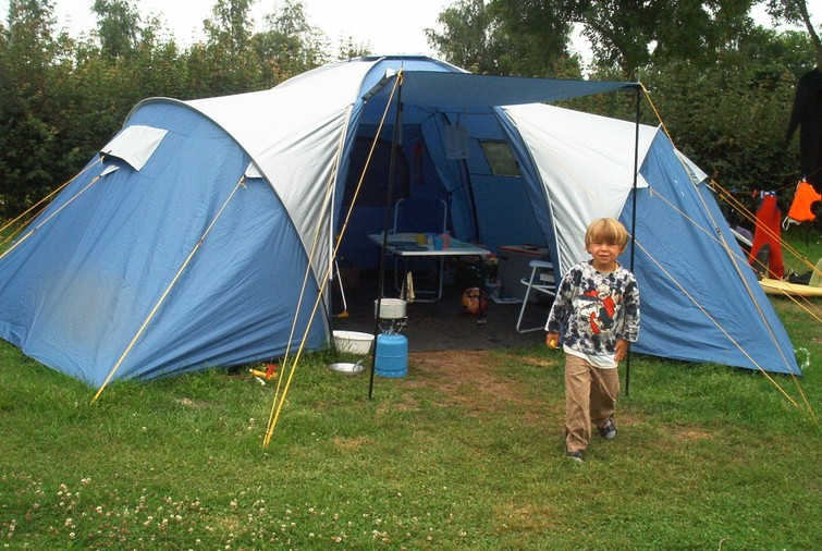 Luxe koepeltent 6p