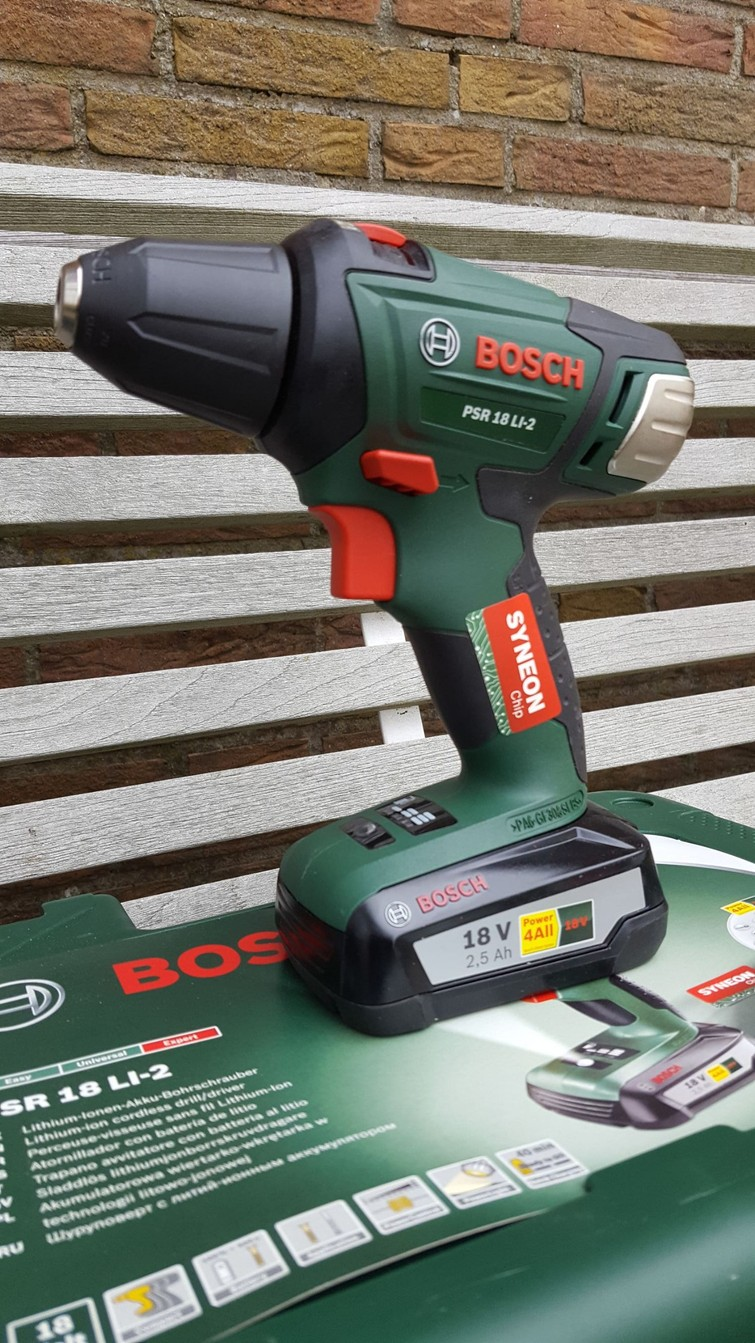 Accu boormachine Bosch psr 18 li-2