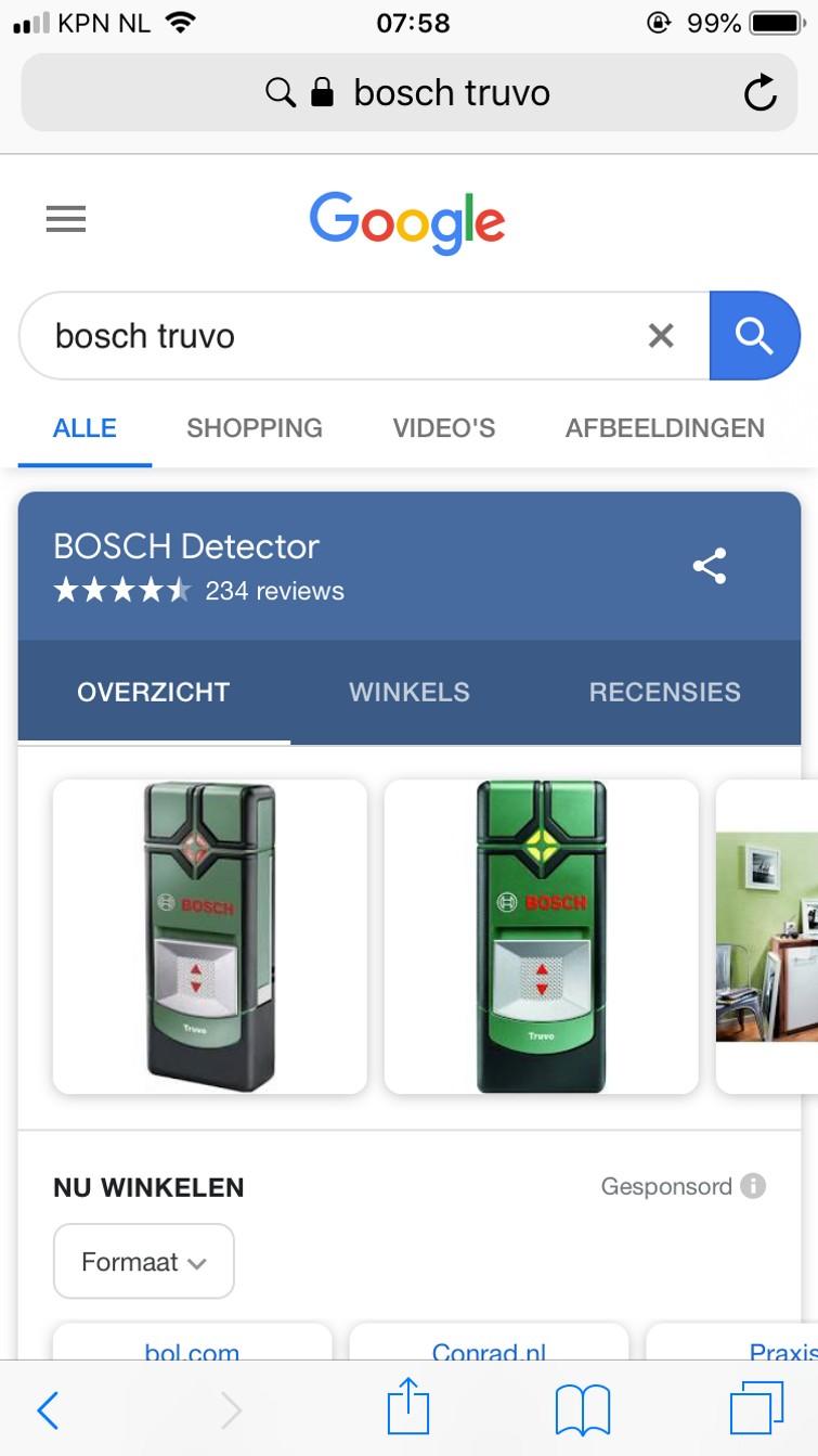 Leidingzoeker Bosch Truvo