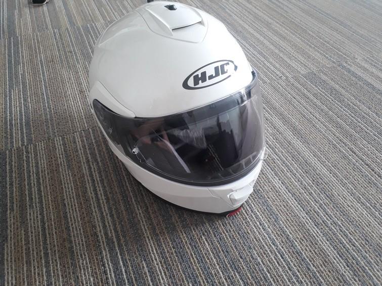 HJC IS-MAX 2 maat M motorfietshelm wit