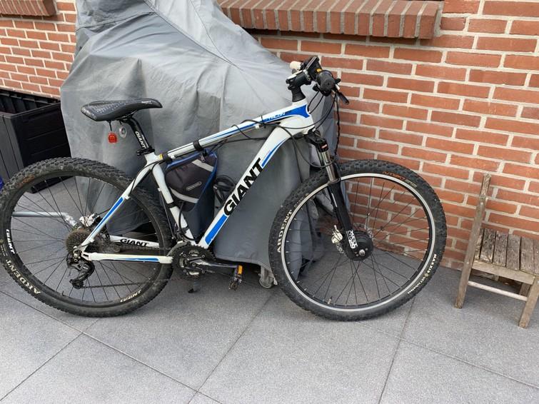 professionele Giant  29er Mountainbike Deore 27 Speed, Shimano hydraulische schijfremmen voor en achter
