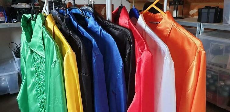 Gekleurd overhemd