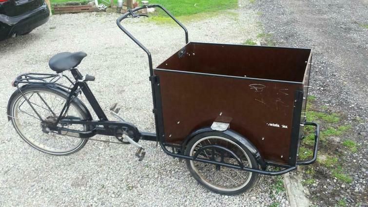 Bakfiets / Cargo bike (5 versnellingen)