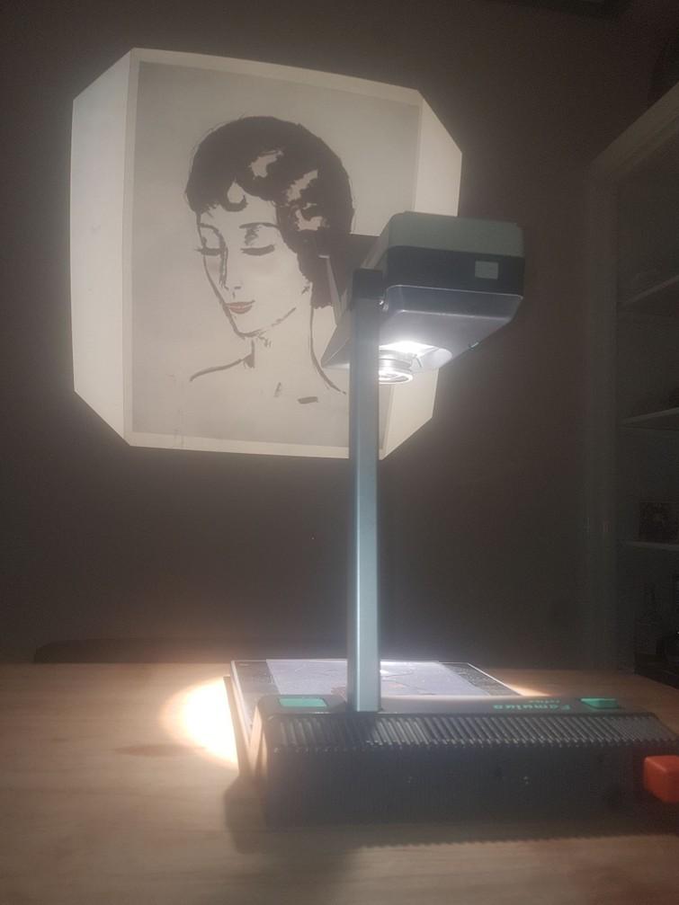 Kindermann Famulus reflex overheadprojector