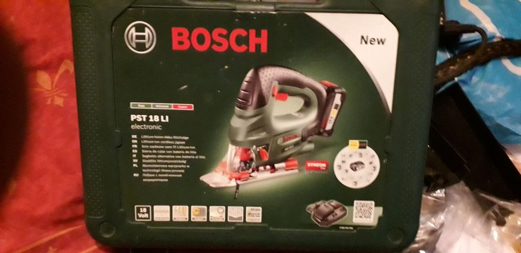 accu decoupeurzaag Bosch 18v