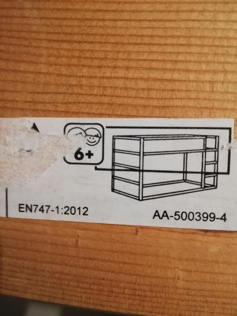 Ikea stapelbed voor kinderen