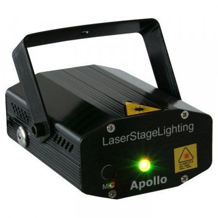 Laserlamp rood-groen