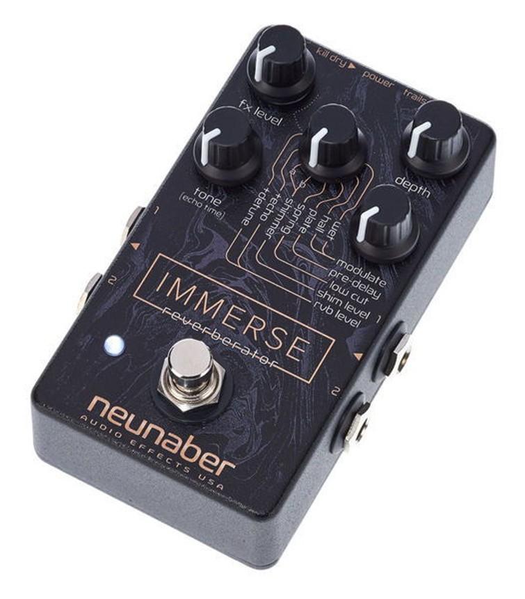 Neunaber Immerse Reverberator - Professioneel Reverb Pedaal voor elektrische gitaar