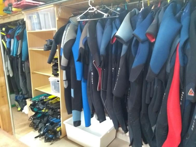 snorkel- en duikgerief