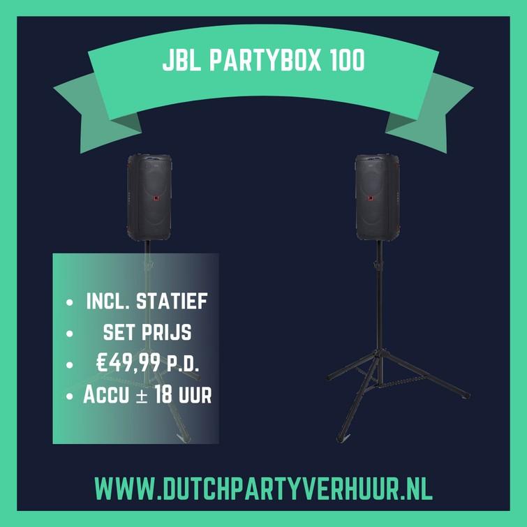 JBL Partybox 100 setprijs