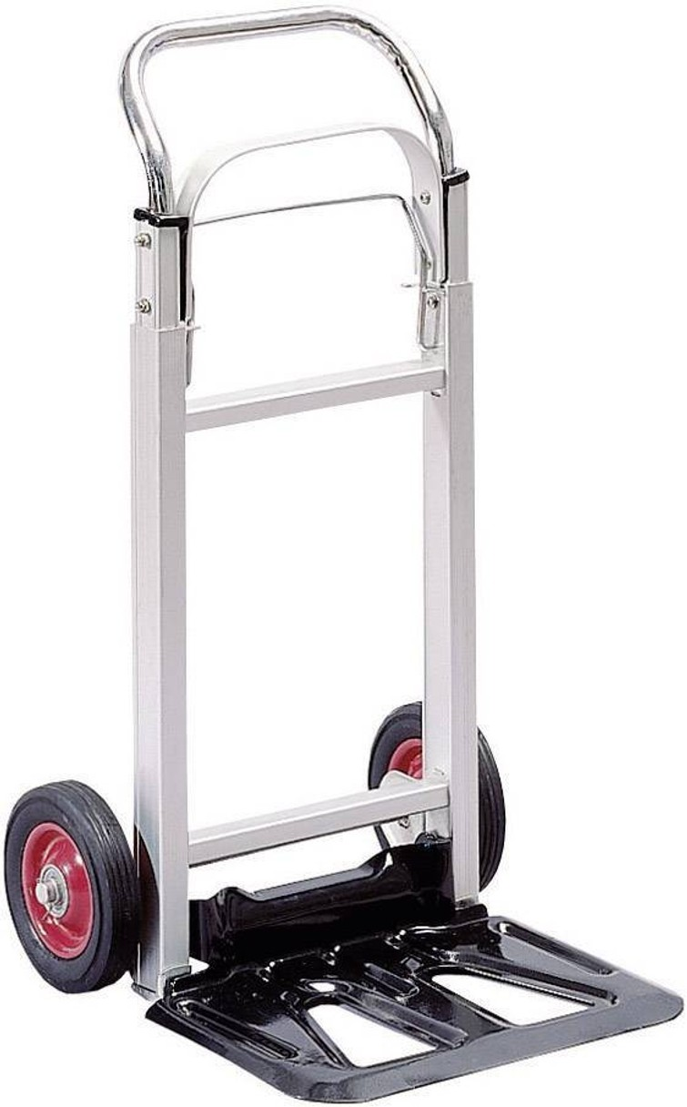 Steekwagen Inklapbaar Aluminium Laadvermogen (max.): 90 kg