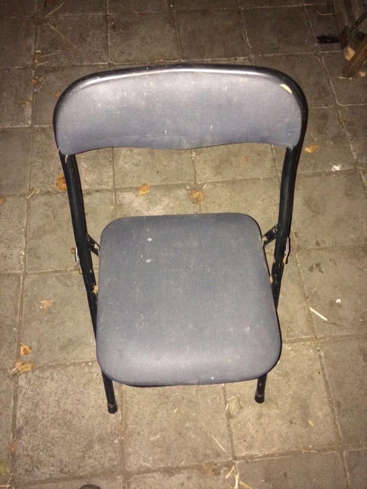 3 vouwstoelen en