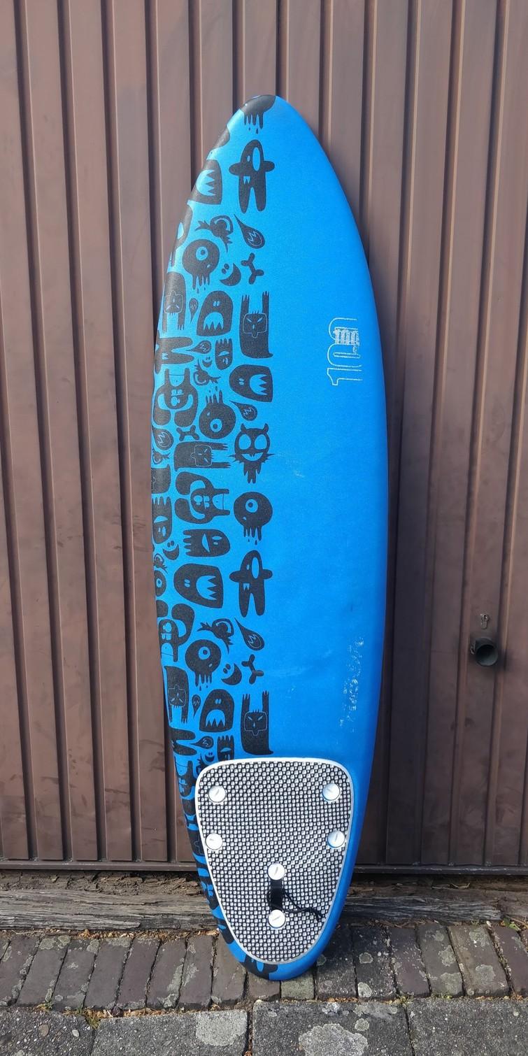 Surfboard Decahtlon 6 foot - Voor de kids