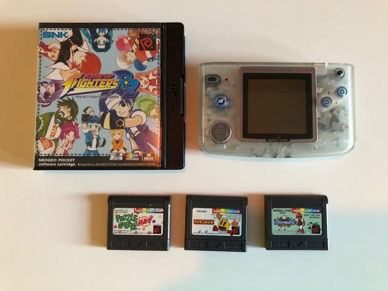 Neo Geo Pocket Color (Retro Gaming)