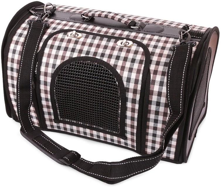 Transporttas voor kat of kleine hond (2 stuks)