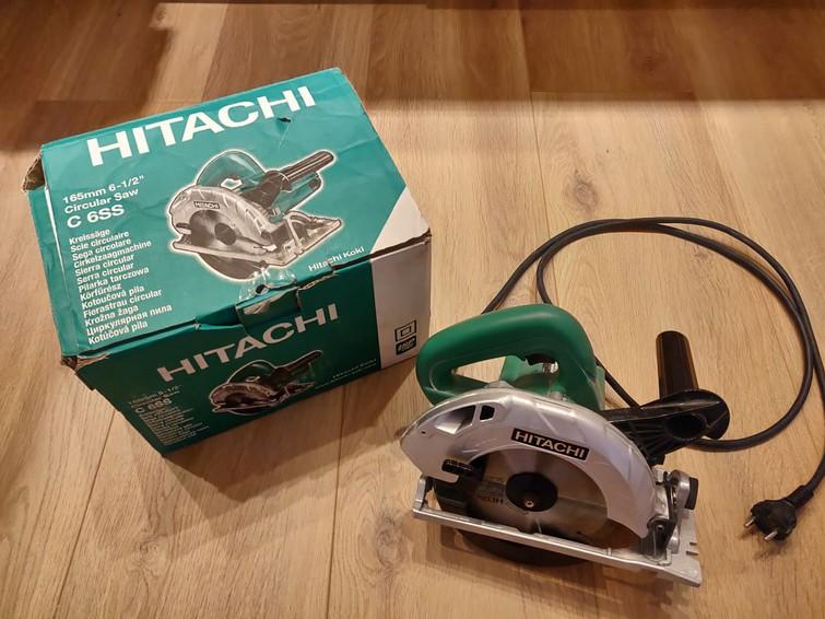 Cirkelzaag Hitachi C 6SS Incl. Parallelaanslag